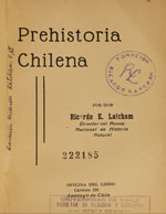 Cover of La prehistoria chilena